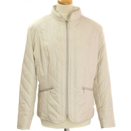 kurtka wiosenna Biba Andrea jasno beżowa rozmiar 48
