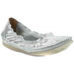 baleriny damskie Maciejka 02338 srebrne rozmiar 36 37 38 39 40