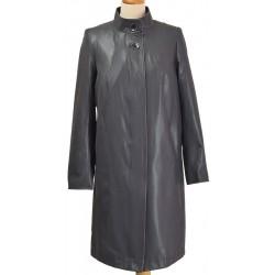 płaszcz damski -Biba Maris ciemno popielaty rozmiar 40 42