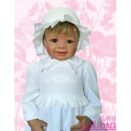 sukienka do chrztu Baby Colibra Tancerka + kapelusz gratis