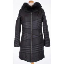 kurtka damska zimowa Biba Zora czarna rozmiar 40 42