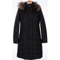 kurtka zimowa Biba Mika czarna rozmiar 44